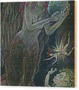 Song Of The Harpy Hen Wood Print