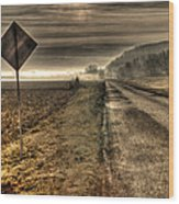 Song Of The Open Road Wood Print