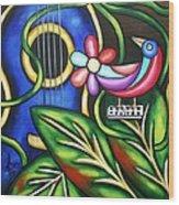 Songbird Wood Print