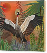 Songbird - Limited Edition 2 Of 20 Wood Print