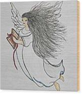 Songs Of Angels Wood Print