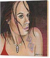 Sonja #2 Wood Print