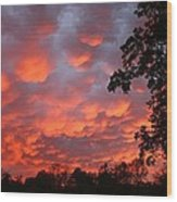 Sonrise Easter Morning Wood Print
