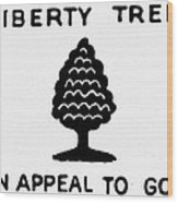 Sons Of Libery Symbol, 1776 Wood Print