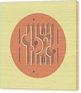 Sonsbeek Pavilion - Aldo Van Eyck Wood Print