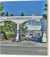 Sony Pictures Entertainment Inc. Spe Wood Print