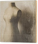Sophistication Wood Print by Amy Weiss