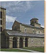 Sopocani Monastery Wood Print