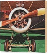 Sopwith Camel Airplane Wood Print