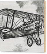 Sopwith F.1 Camel 1917 Wood Print