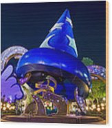Sorcerer's Hat Wood Print