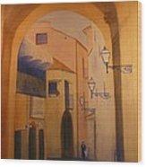 Sorento Scene Wood Print