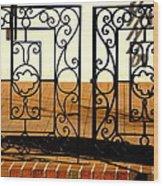 Sorosis Gate Wood Print