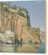 Sorrento Wood Print by Emanuel Stockler