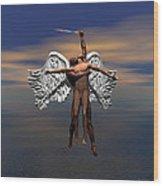 Soul Ascending Wood Print