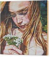 Soul Blossoms Wood Print