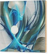 Soul Blueprint Wood Print