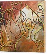 Soul Jazz 2 Wood Print
