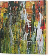 Souled Forest Wood Print by Fromatoz arts