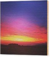 Soulful Sunrise Wood Print