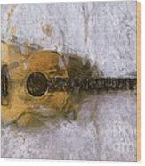 Sound Of Canvas II Wood Print