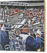 Sounds Of College Football Wood Print