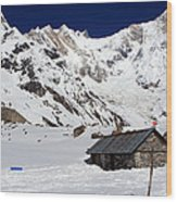 South Annapurna Base Camp - Nepal 05 Wood Print