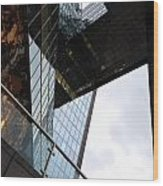 South Bank City Reflections No.3 Wood Print