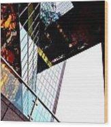 South Bank City Reflections No.4 Wood Print