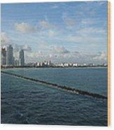 South Beach Miami Fl Wood Print