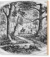 South Carolina Battlefield Wood Print