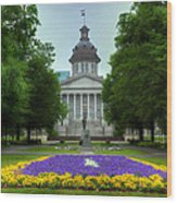 South Carolina State House Wood Print