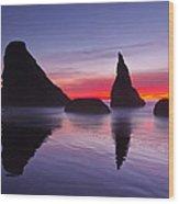 South Coast Reds Wood Print