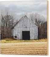South County Barn Wood Print