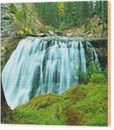 South Fork Falls  Wood Print