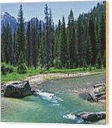 South Fork Payette River Grandjean Wood Print