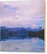 South Holston Lake Tn Wood Print