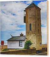 South Lookout Tower Aldeburgh Beach Wood Print