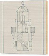 South Manitou Island Lighthouse Wood Print