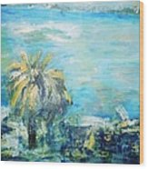 South Of France    Juan Les Pins Wood Print