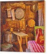 South Park City Kitchen Wood Print