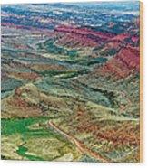 South Pass Wood Print