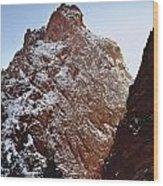 210855-south Pillar Of Hercules, Co Wood Print