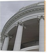 South Portico Of The White House Wood Print