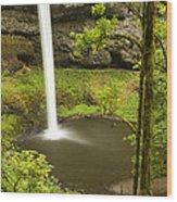 South Silver Falls 2 Wood Print