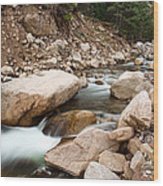 South St Vrain Canyon Autumn View Wood Print