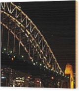 South Sydney Harbour Bridge Wood Print