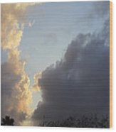 South Texas Skies Wood Print