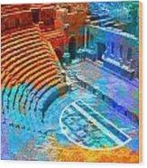 South Theatre Jordan Wood Print