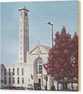 Southampton Civic Center Public Building Wood Print
